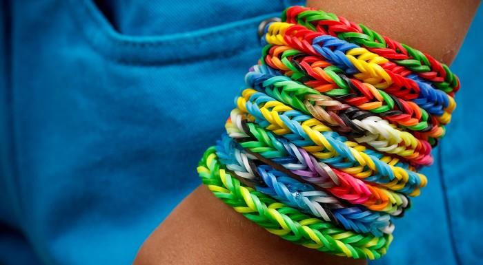 Farebné gumičky Loom Bands