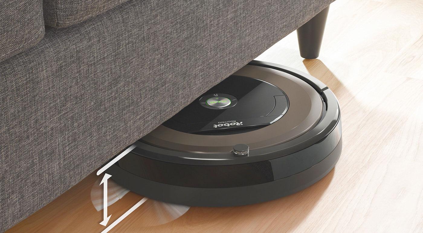 Robotický vysávač iRobot Roomba 895 s patentovaným 3-stupňovým systémom čistenia