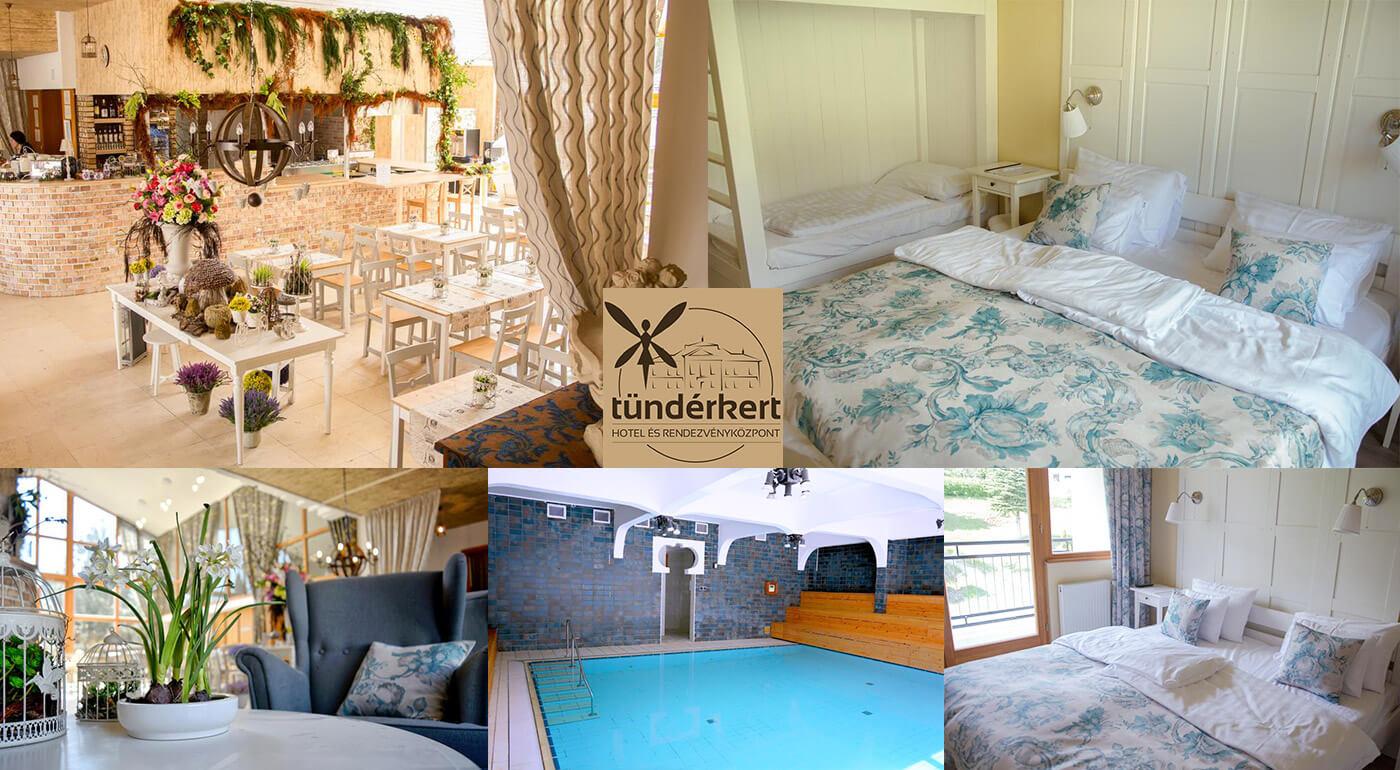 Kúzla existujú nielen v rozprávkach: Tündérkert Hotel Noszvaj *** Maďarsko na 3 dni s polpenziou