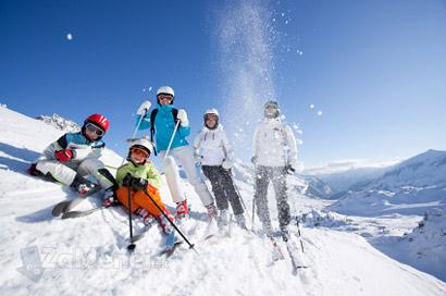 lyžovanie jasná