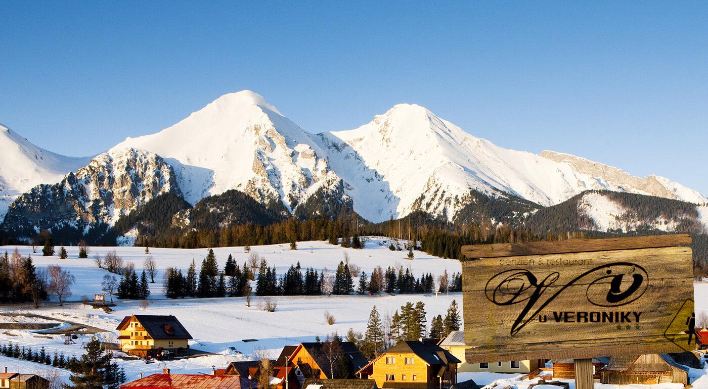 Belianske Tatry: ubytovanie v Penzióne u Veroniky v Ždiari s polpenziou a super zľavami na lyžiarske skipasy, do aquaparkov či termálov