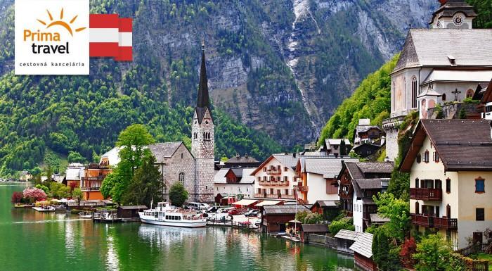 Zájazd do Salzburgu s plavbou po Wolfgangsee