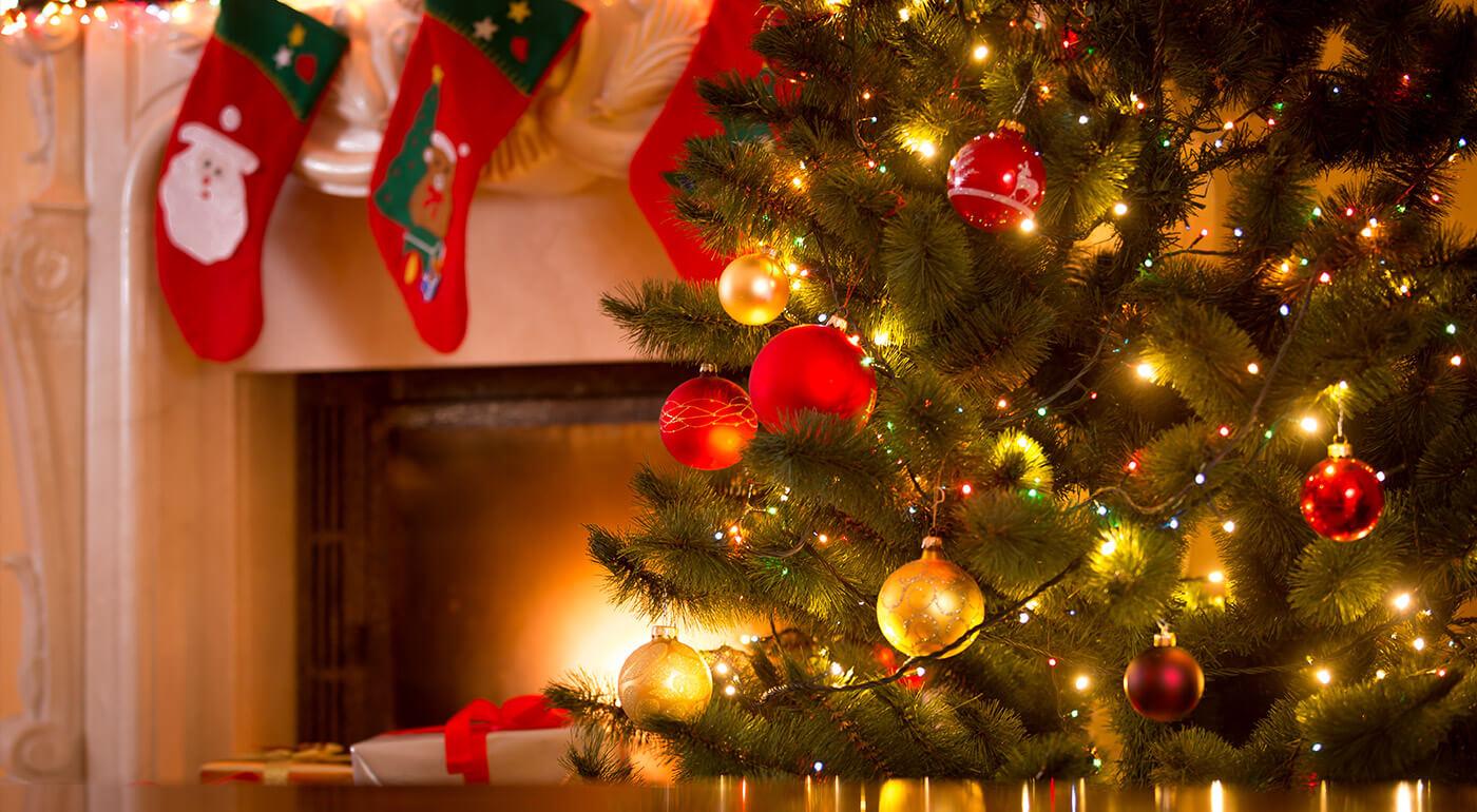Vianočné LED svetlá na baterky - 6 farieb