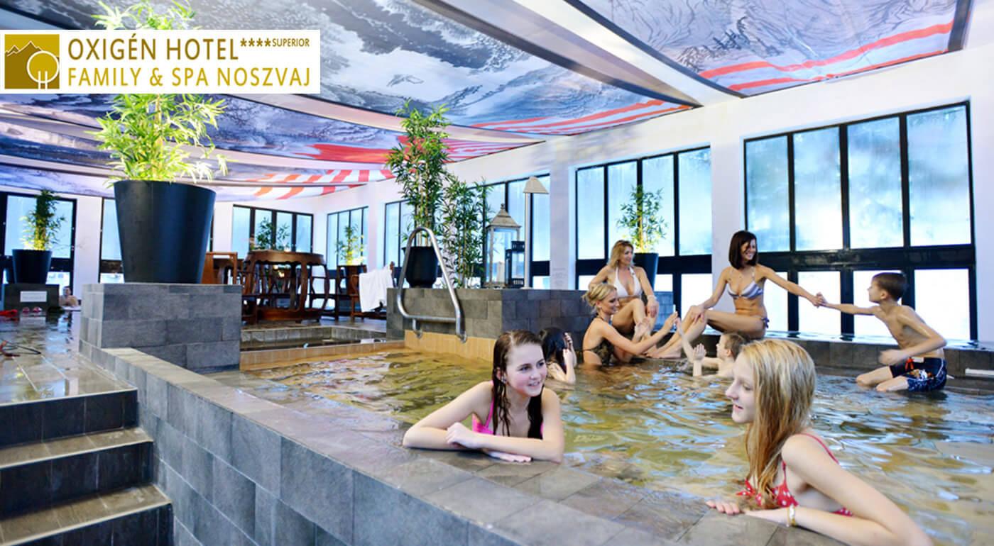 Maďarsko: Luxusný rodinný pobyt s wellness na 3 dni v Oxigén Hoteli**** Superior v Noszvaji
