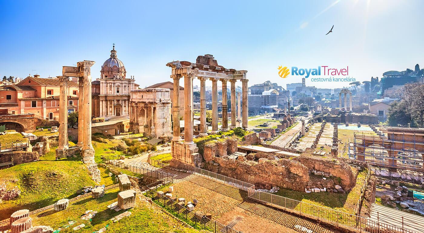 Spoznajte Taliansko a jeho hlavné mesto Rím počas 5 dní - letecky z Bratislavy!