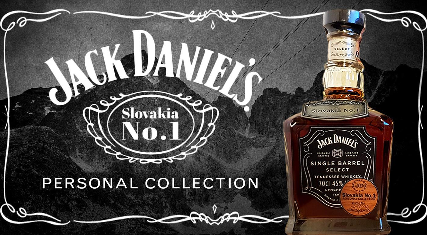 Exkluzívna limitovaná edícia Jack Daniel's Slovakia No.1 - Single Barrel Personal Collection