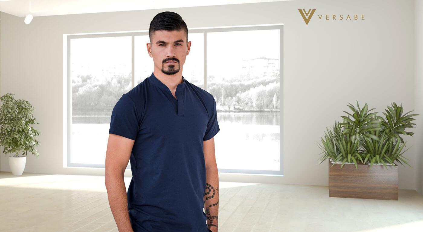Pánske tričká Versabe - jednoduchá elegancia vyrobená na Slovensku!