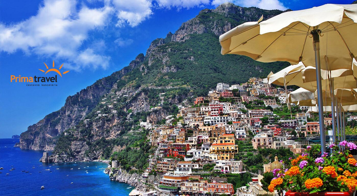 Južné Taliansko: ostrov Capri, Neapol, sopka Vezuv a Pompeje