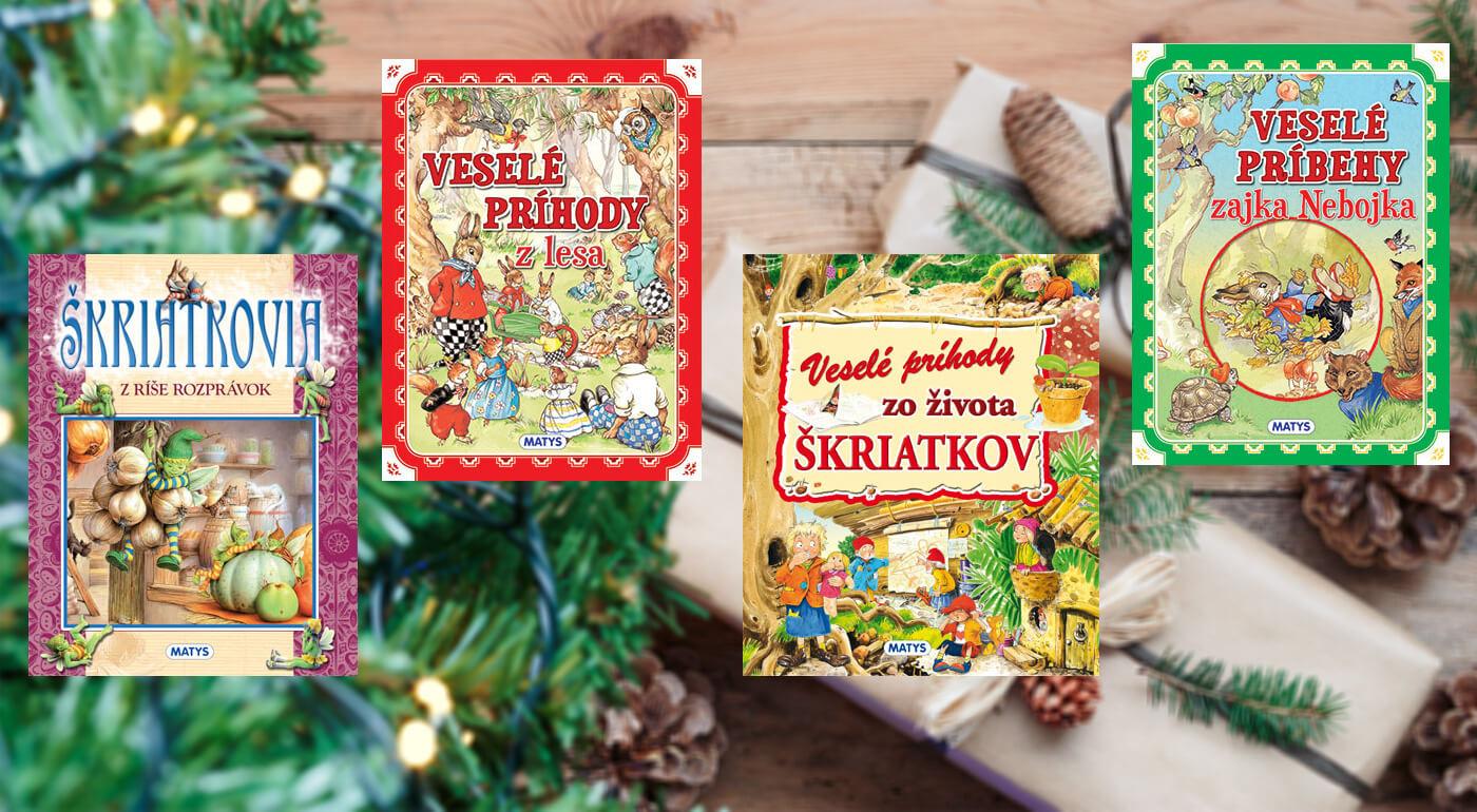 Detské knižky z vydavateľstva Matys - darujte deťom na Vianoce rozprávkový darček
