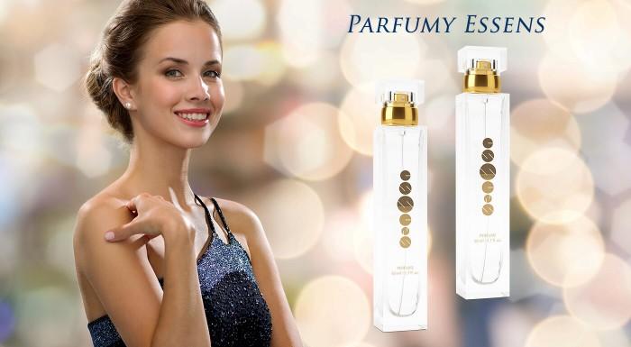 Tá pravá vôňa dokáže rozjasniť celý deň. Očarujúca či svieža do práce, zvodná alebo šibalská na večer - jednoducho vždy dokonalá. Urobte si radosť s parfumami Essens inšpirovanými svetovými vôňami.