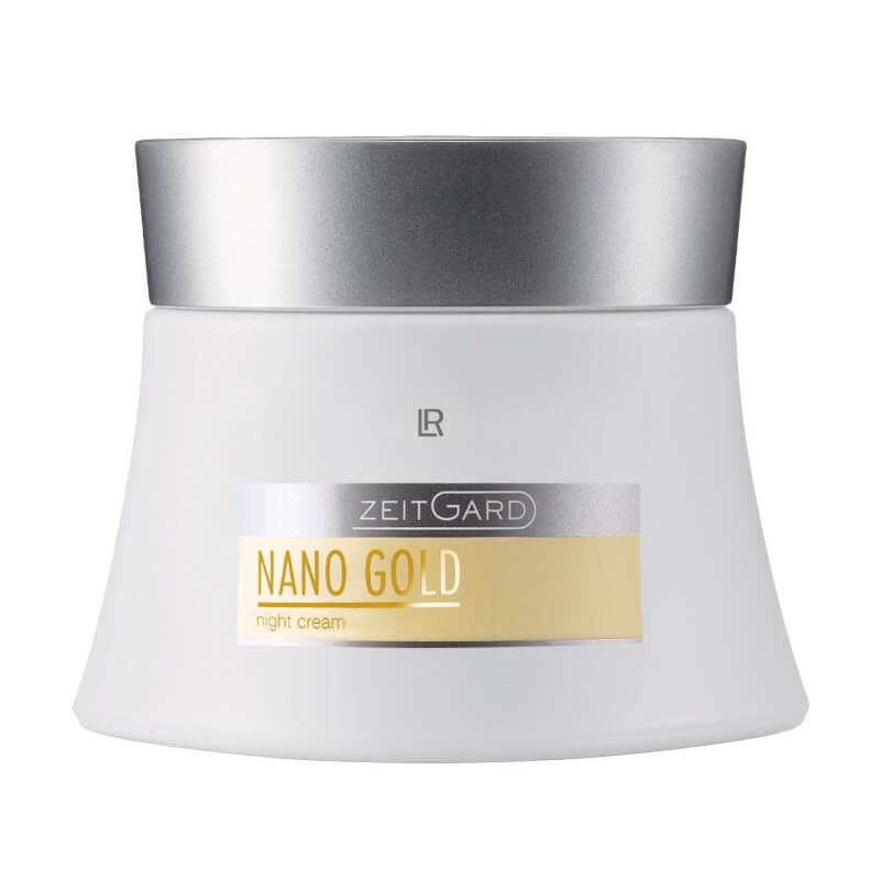 LR Zeitgard Nanogold Nočný krém 50 ml