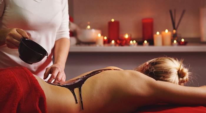 Čokoládová masáž v centre Bratislavy