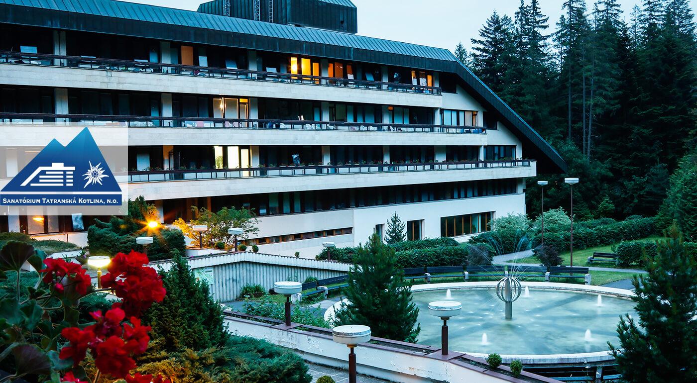 Vysoké Tatry: 4 alebo 7-dňový ozdravný pobyt Sanatórium Tatranská Kotlina s polpenziou a množstvom procedúr