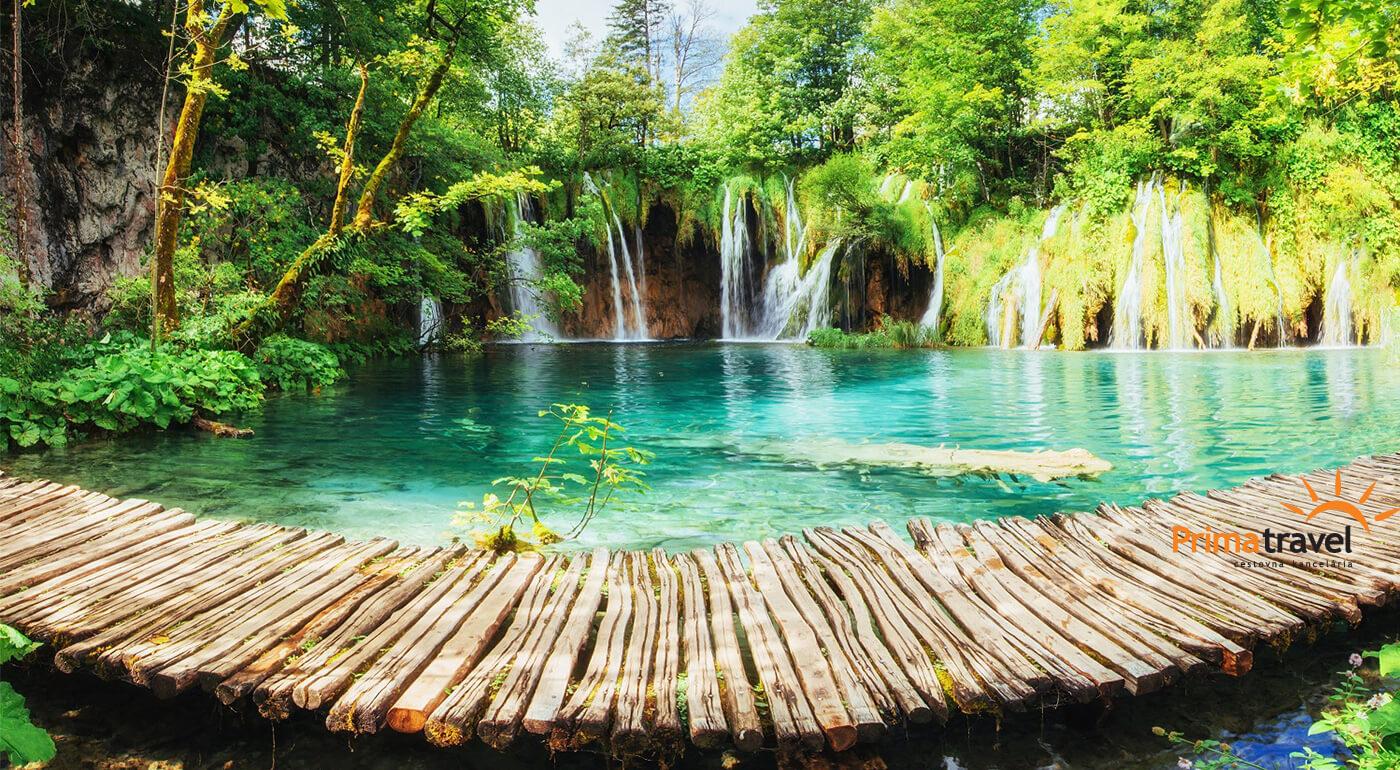 Chorvátsko: Plitvické jazerá a návšteva pulzujúcej metropoly Záhreb na 3-dňovom zájazde
