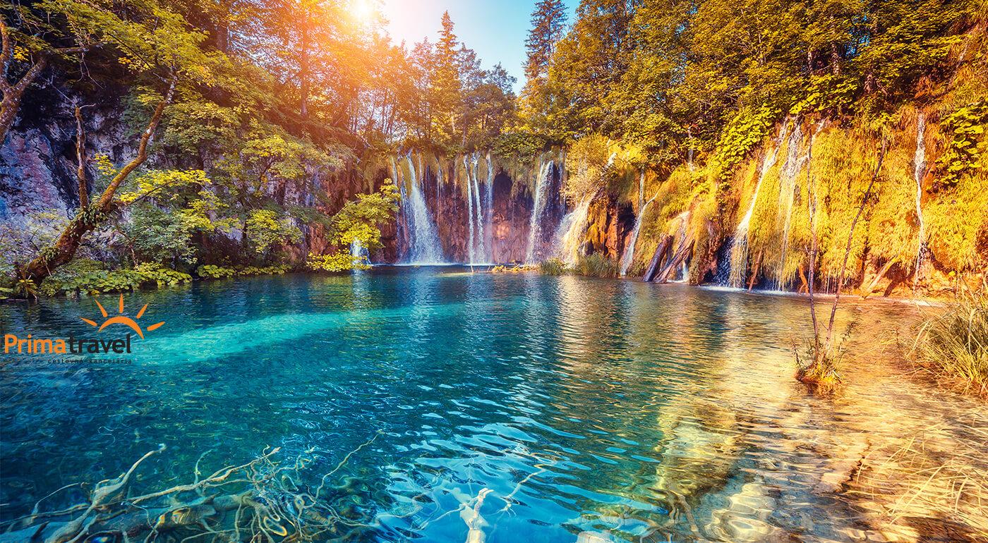 Chorvátsko počas 4 dní: Plitvické jazerá, kúpanie Crikvenica a návšteva metropoly Záhreb