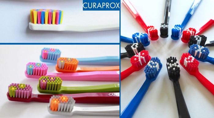 Curaprox zubné kefky - limitované edície