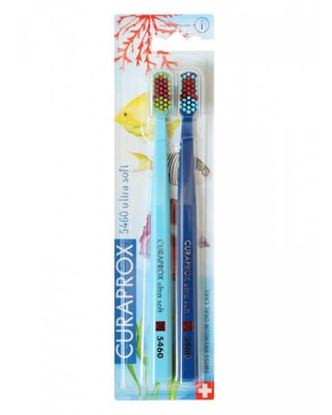 Curaprox zubné kefky - Oceánska edícia  1 (5460 ultra soft - 2 ks v balení)