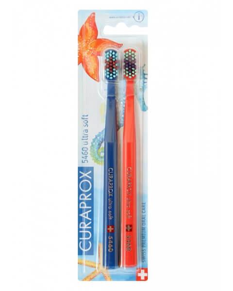Curaprox zubné kefky - Oceánska edícia  2 (5460 ultra soft - 2 ks v balení)