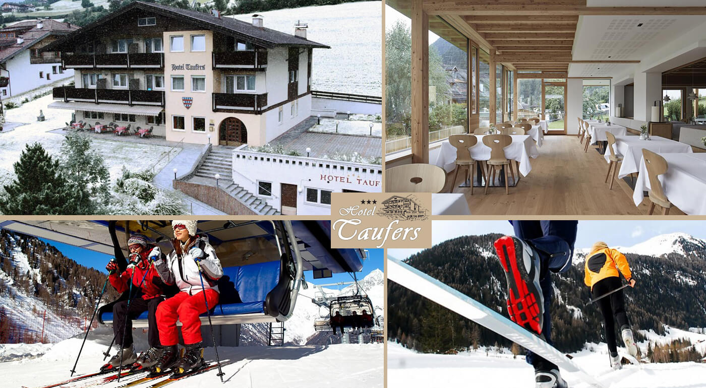 Taliansko: Zimná lyžovačka v Hoteli Taufers*** s fľašou vína a vstupom do wellness