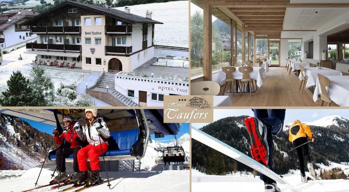 Zimná lyžovačka v Taliansku