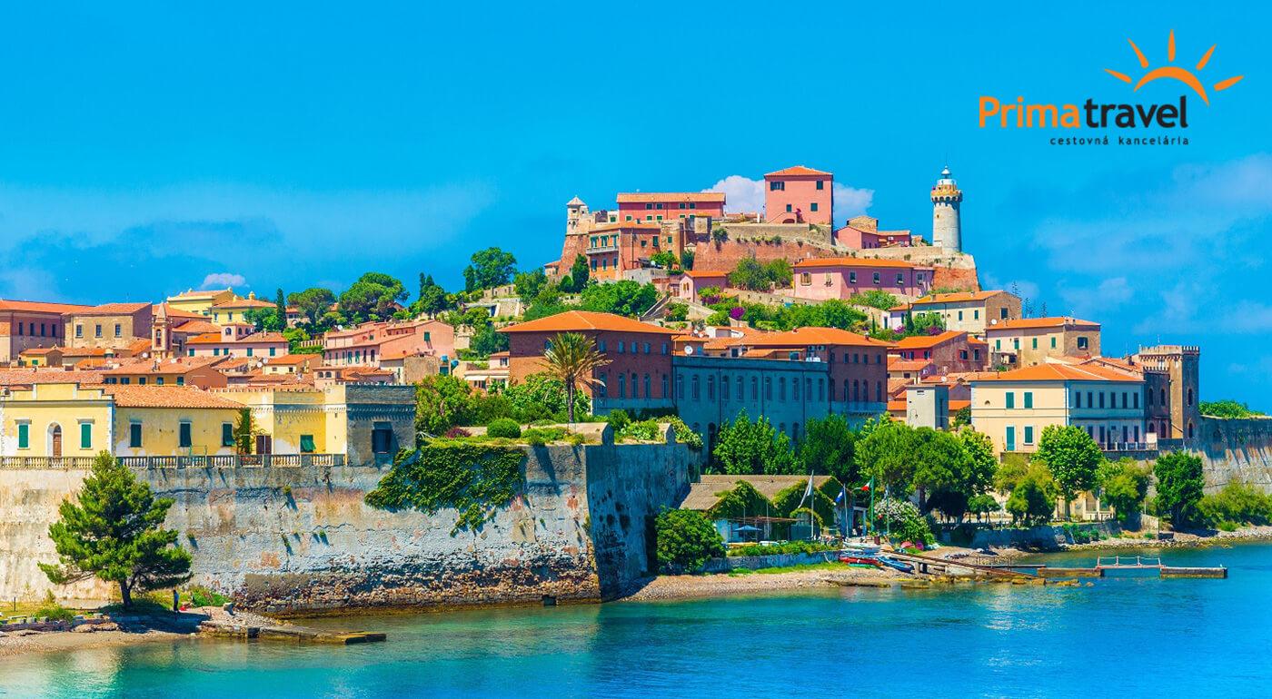 Spoznajte Taliansko počas 4 dní - ostrov Elba, hlavné mesto Toskánska Florencia a svetoznáma Šikmá veža v Pise