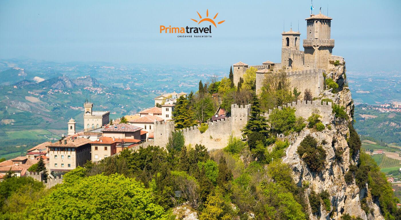 Taliansko: Zájazd plný slnka, mora a nekonečných pláži do obľúbeného letoviska Rimini s návštevou miništátu San Marino