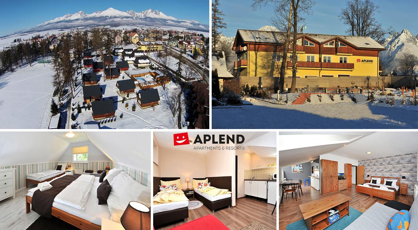 Lákavá dovolenka v apartmánoch, chatách, štúdiách či domčekoch Tatry Holiday pre 2-4 osoby