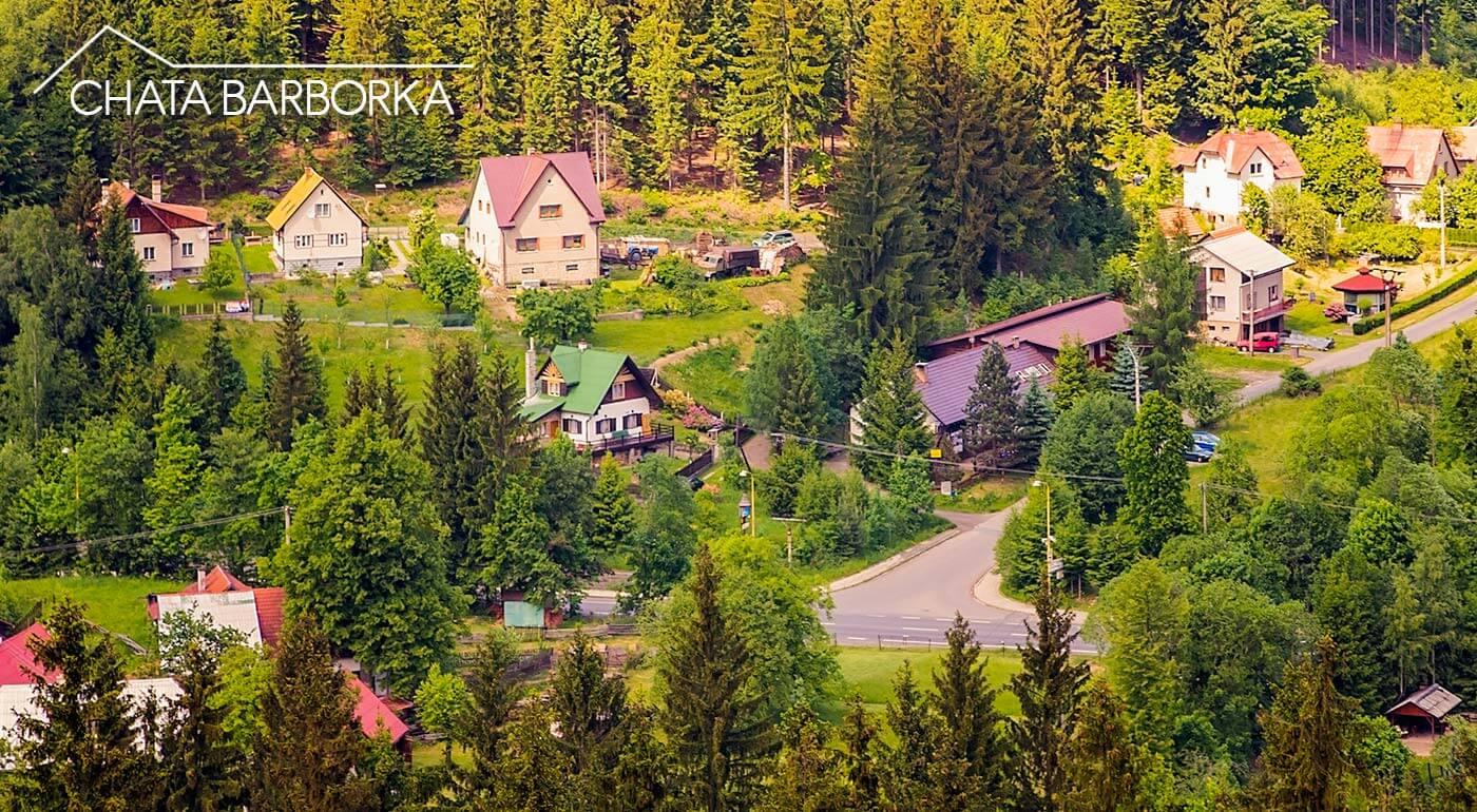 Chata Barborka v Moravsko-sliezskych Beskydách s polpenziou