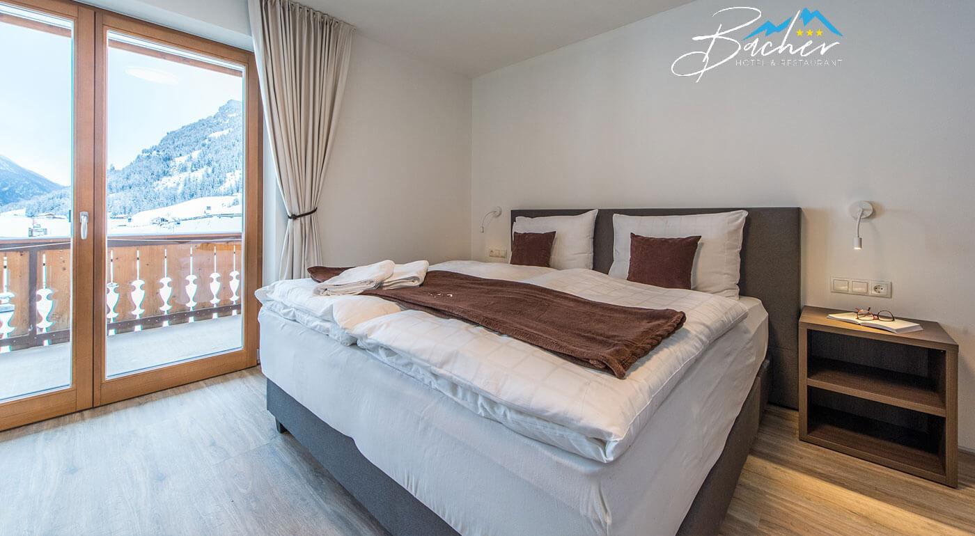 Taliansko: Zimná lyžovačka v Hoteli Bacher*** s vínkom, vstupom do wellness a túrou na snežniciach
