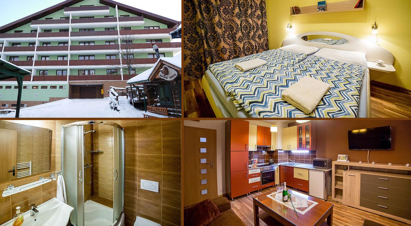 Vysoké Tatry: Výborný pobyt v moderne zariadenom Apartmánovom dome Patris v Tatranskej Štrbe