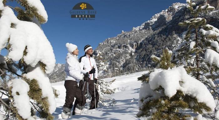 Sneh, zima a lyžovačka v Hoteli Goldene Rose***