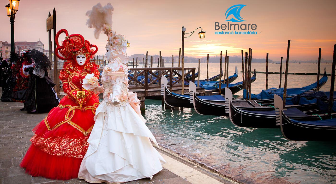 Benátky: 3-dňový zájazd s návštevou benátskeho karnevalu a najznámejších pamiatok - odjazd až z Humenného!