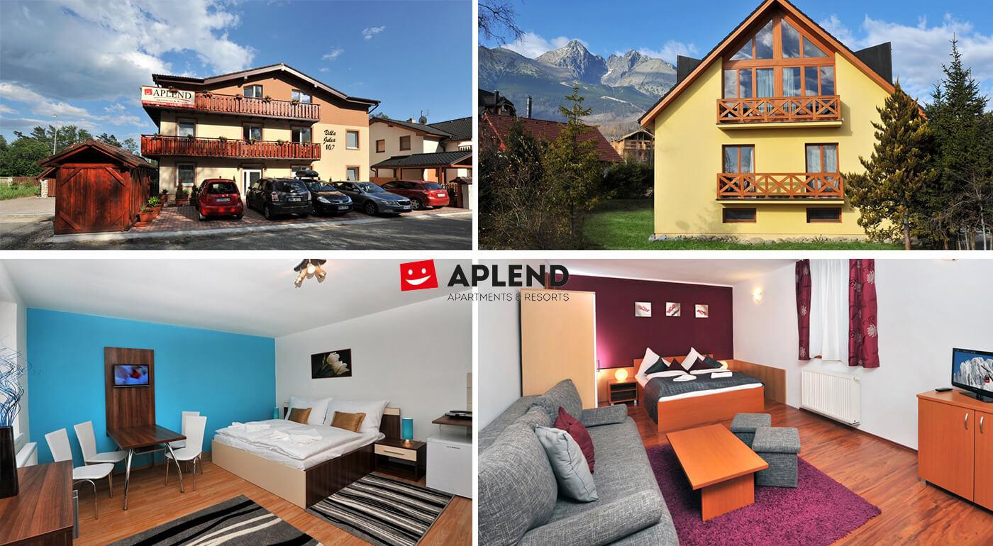 Vysoké Tatry: Dovolenka pre celú rodinu v apartmánoch a štúdiách Resortu Beatrice v Tatranskej Lomnici pre 2 až 4 osoby