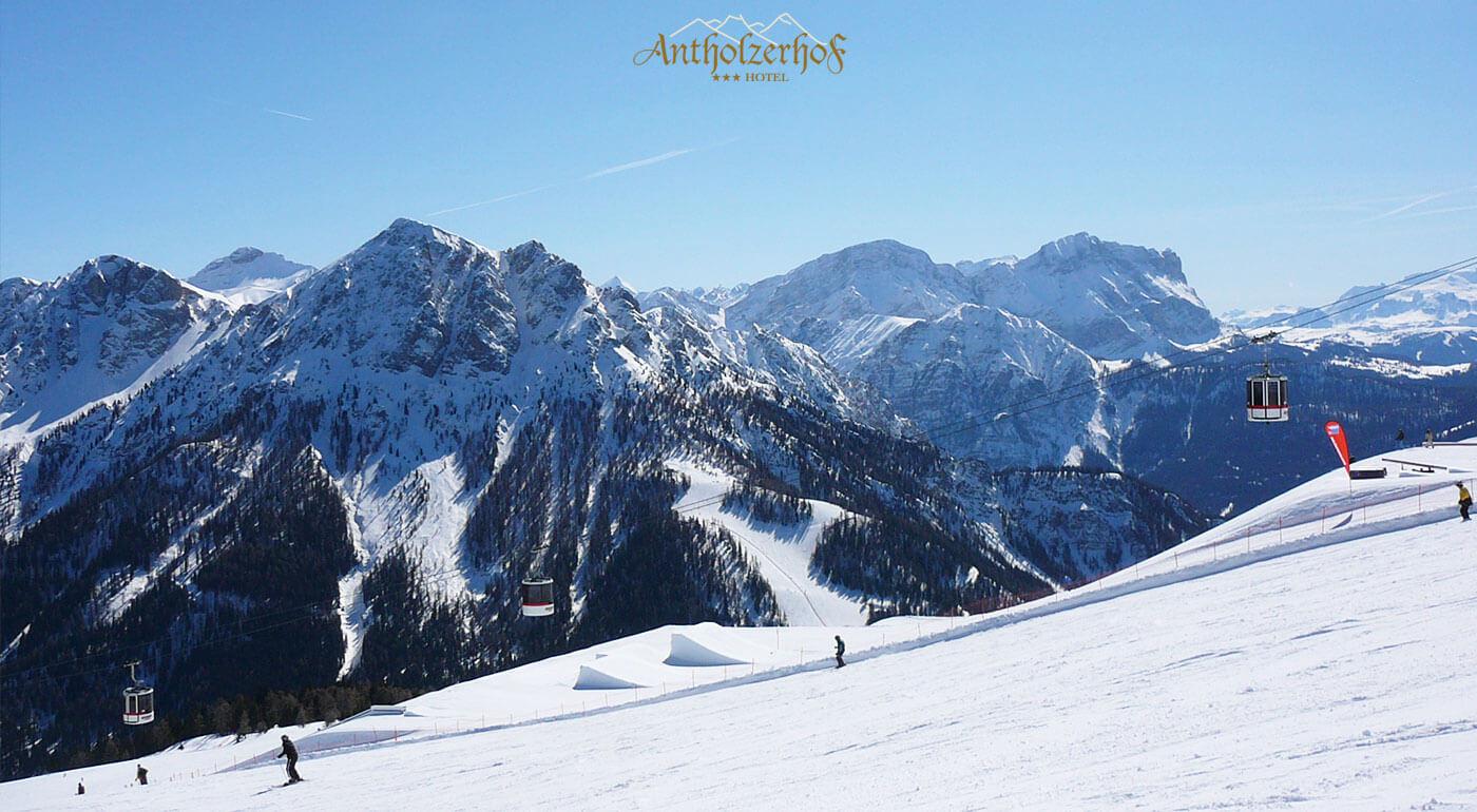 Talianske Alpy: Dovolenka v útulnom Hoteli Antholzerhof*** s polpenziou, wellness a skibusom GRÁTIS