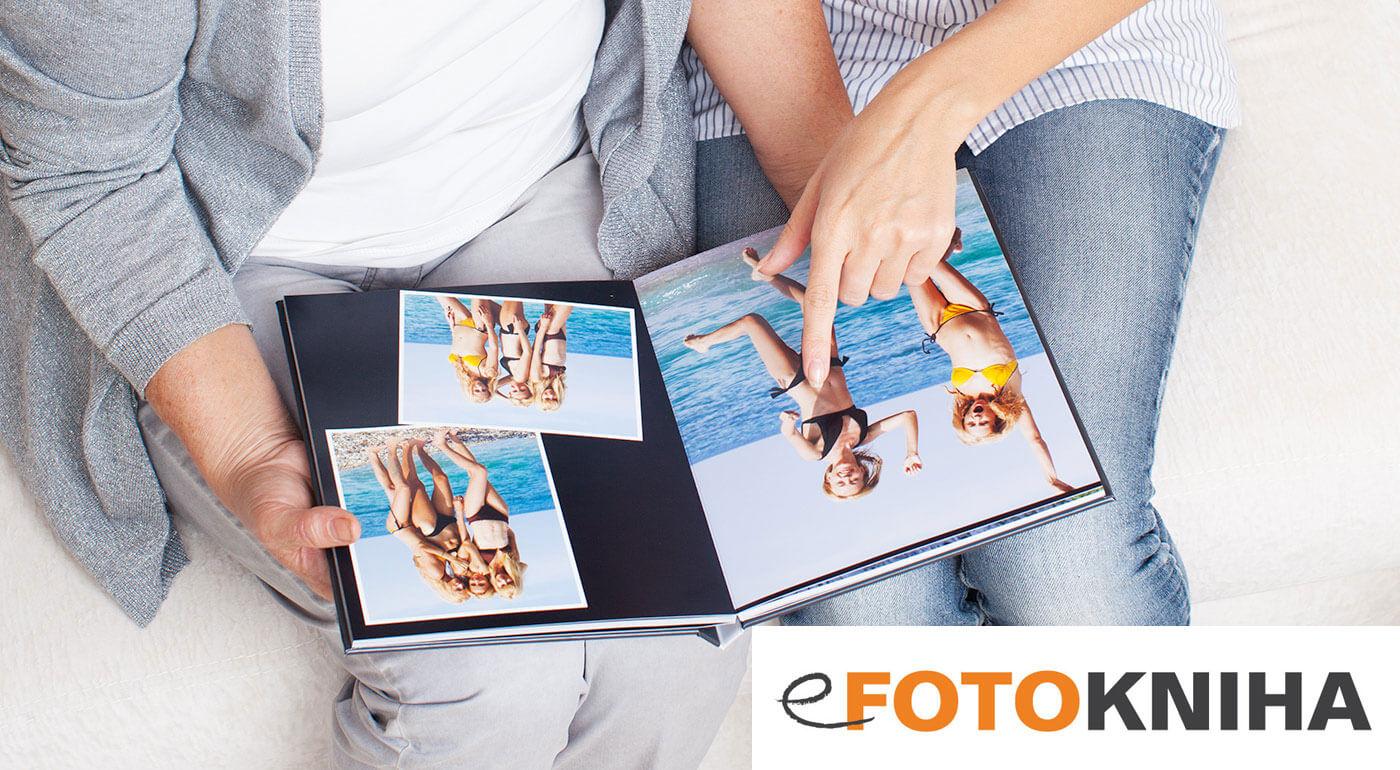 Fotokniha v tvrdých doskách s leským kriedovým papierom  - na výber 40, 60 alebo 80-stranový variant