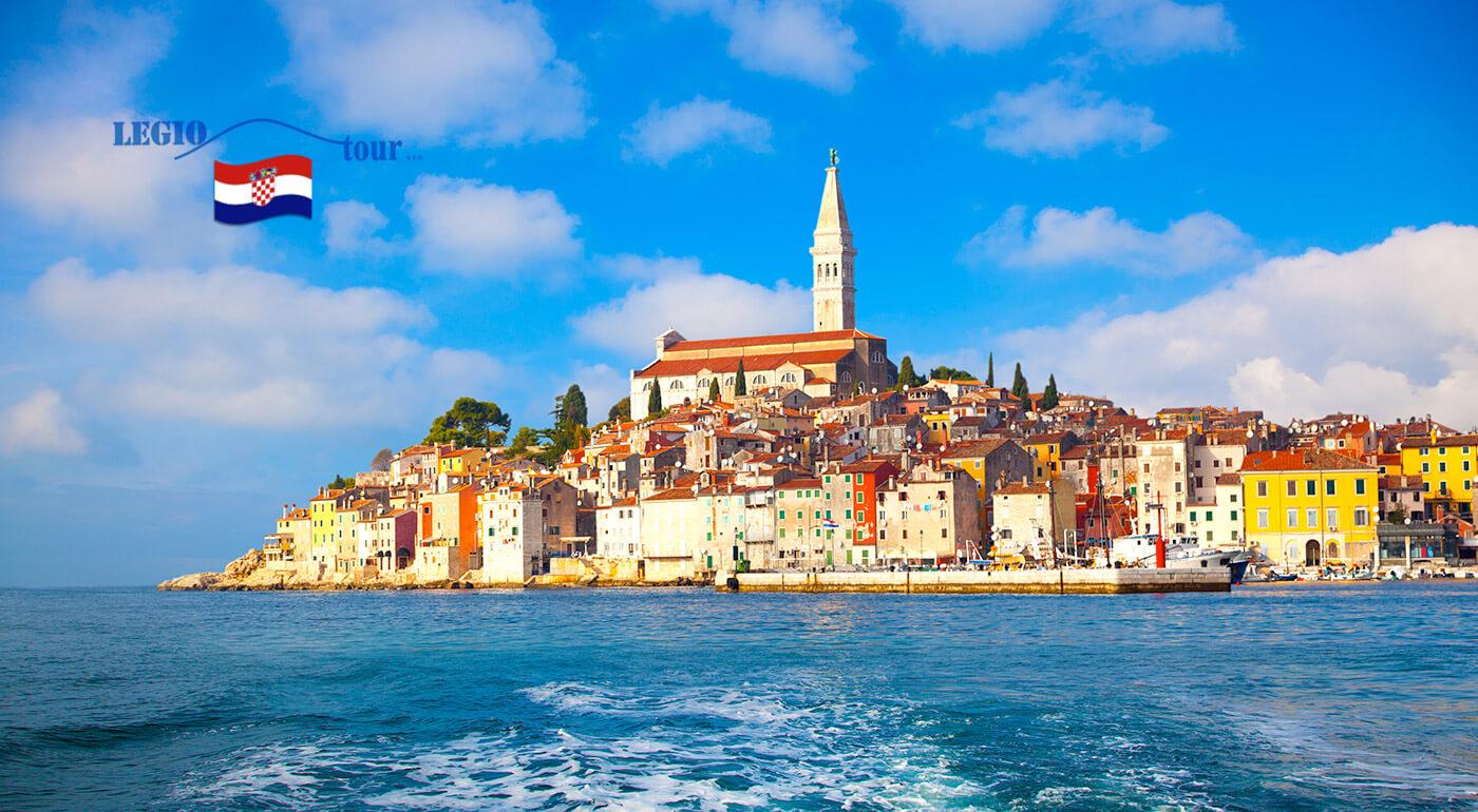 Letná dovolenka v chorvátskom meste Poreč s ubytovaním vo vilkách v stredisku Zelená Lagúna
