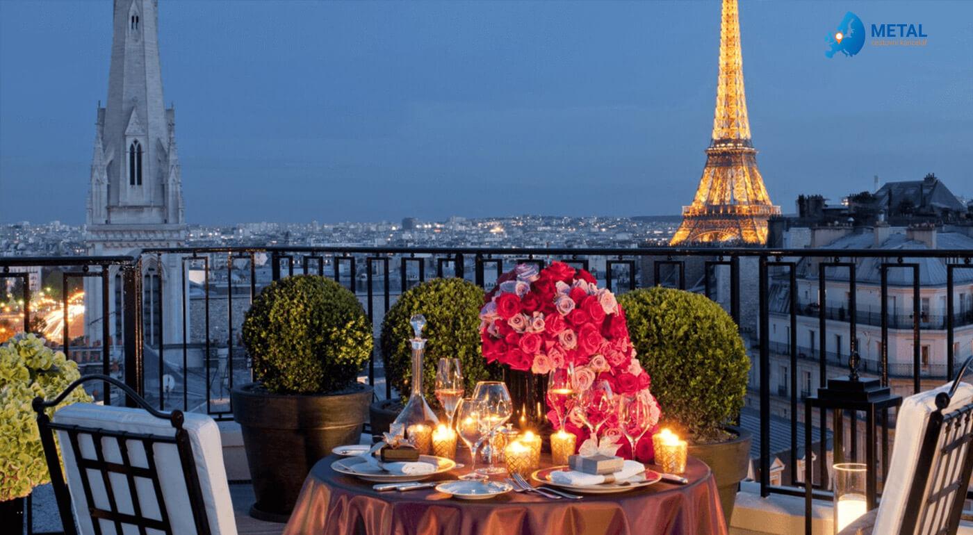 5-dňový zájazd Paríž na Valentína pre 1 osobu