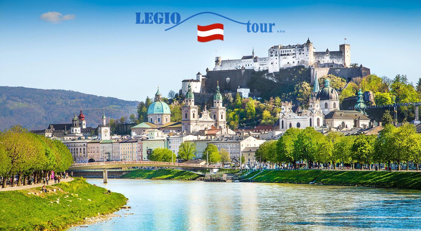 Salzburg: 2-dňový poznávací zájazd do Mozartovho rodného mesta a jeho nádherného okolia