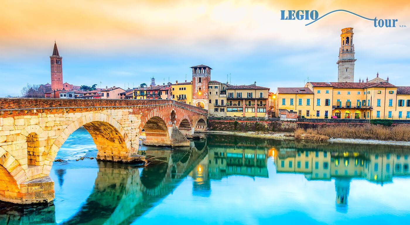 Verona a Benátky alebo 4 dni v Taliansku pre zamilovaných i milovníkov histórie