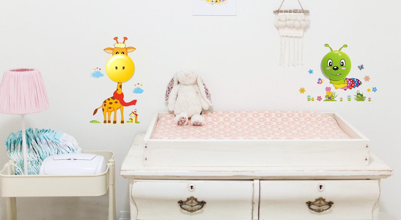 Dotyková LED lampa pre deti - doplnok, ktorý krásne rozžiari každú detskú izbu