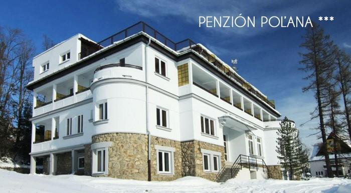 Zima v Tatrách v Penzióne Poľana*** s wellness