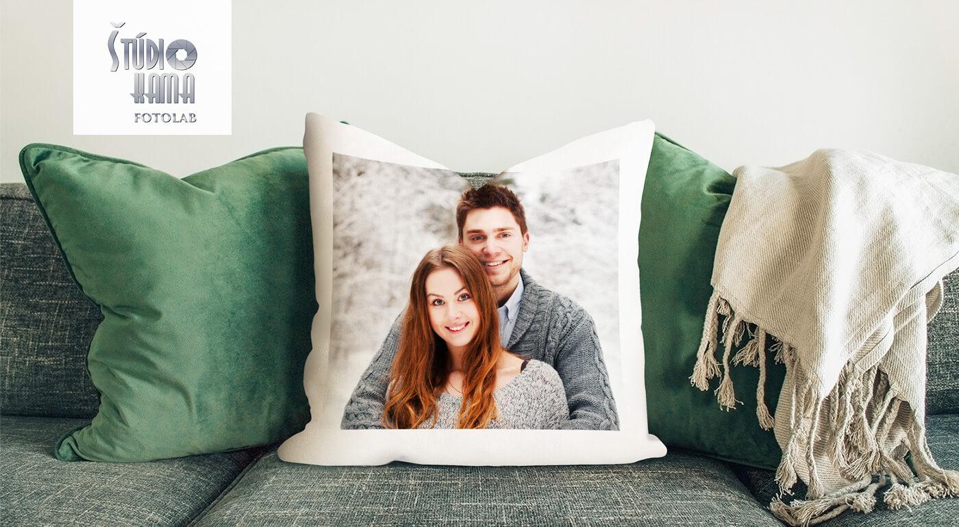 Valentínsky tip na darček: Dekoračný vankúš s fotografiou podľa vlastného výberu