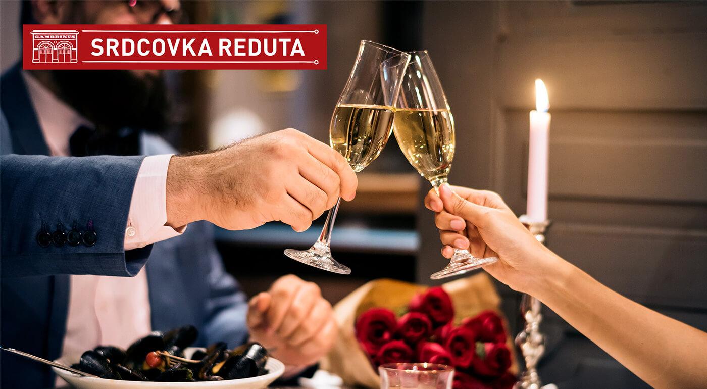 Špeciálne valentínske menu v novootvorenej reštaurácii Srdcovka Reduta