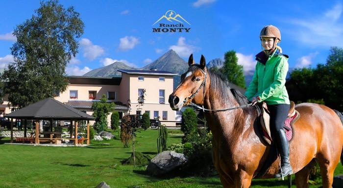 Pobyt v Tatrách s polpenziou a jazdou na koni