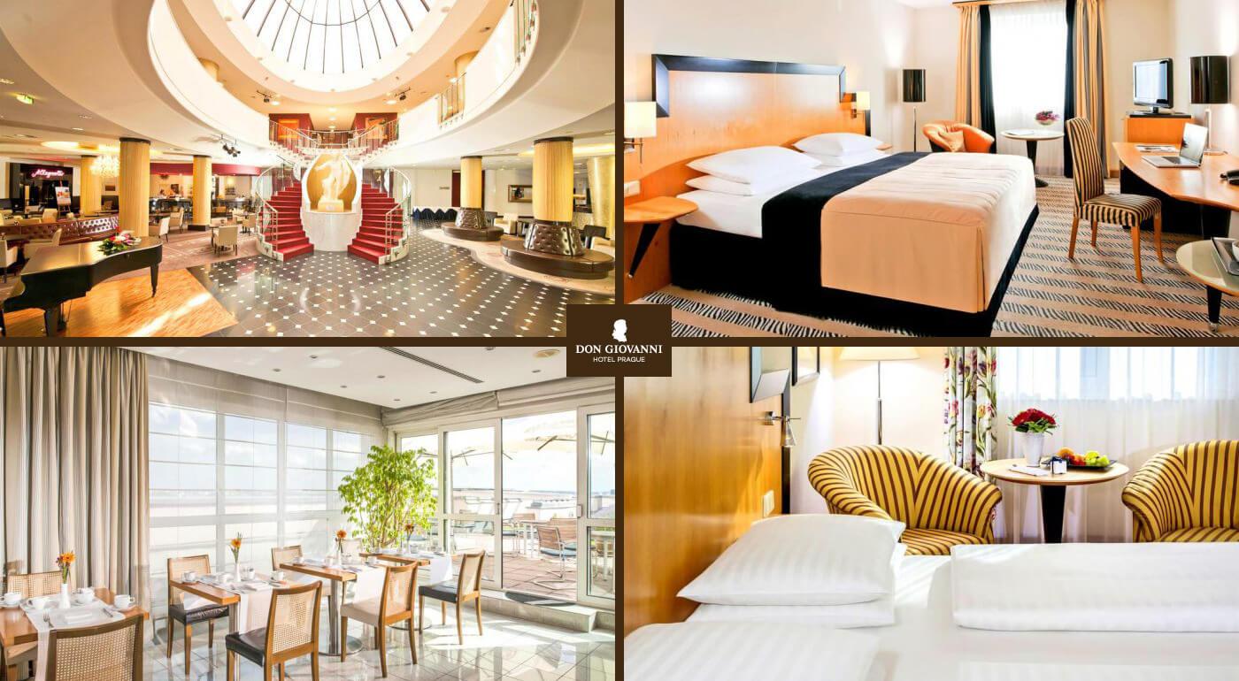 Praha: Dovolenka na pražský spôsob v Hoteli Don Giovanni**** blízko historického centra