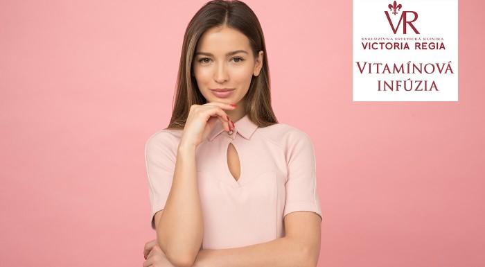 Vitamínová infúzia na Klinike Victoria Regia