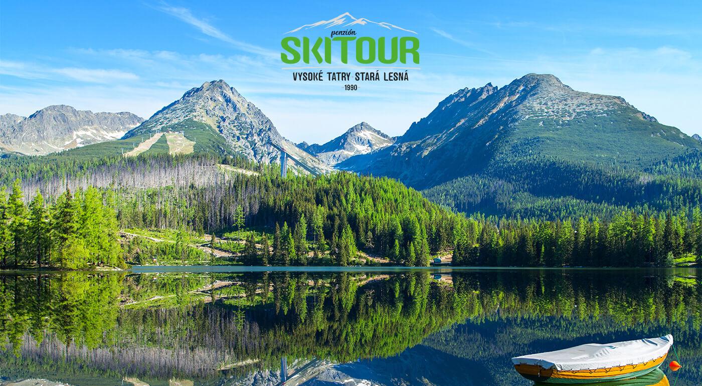 Vysoké Tatry: 5-dňový pobyt pod vrcholmi Tatier počas Veľkej noci v Penzióne Skitour s celodenným vstupom do aquaparku