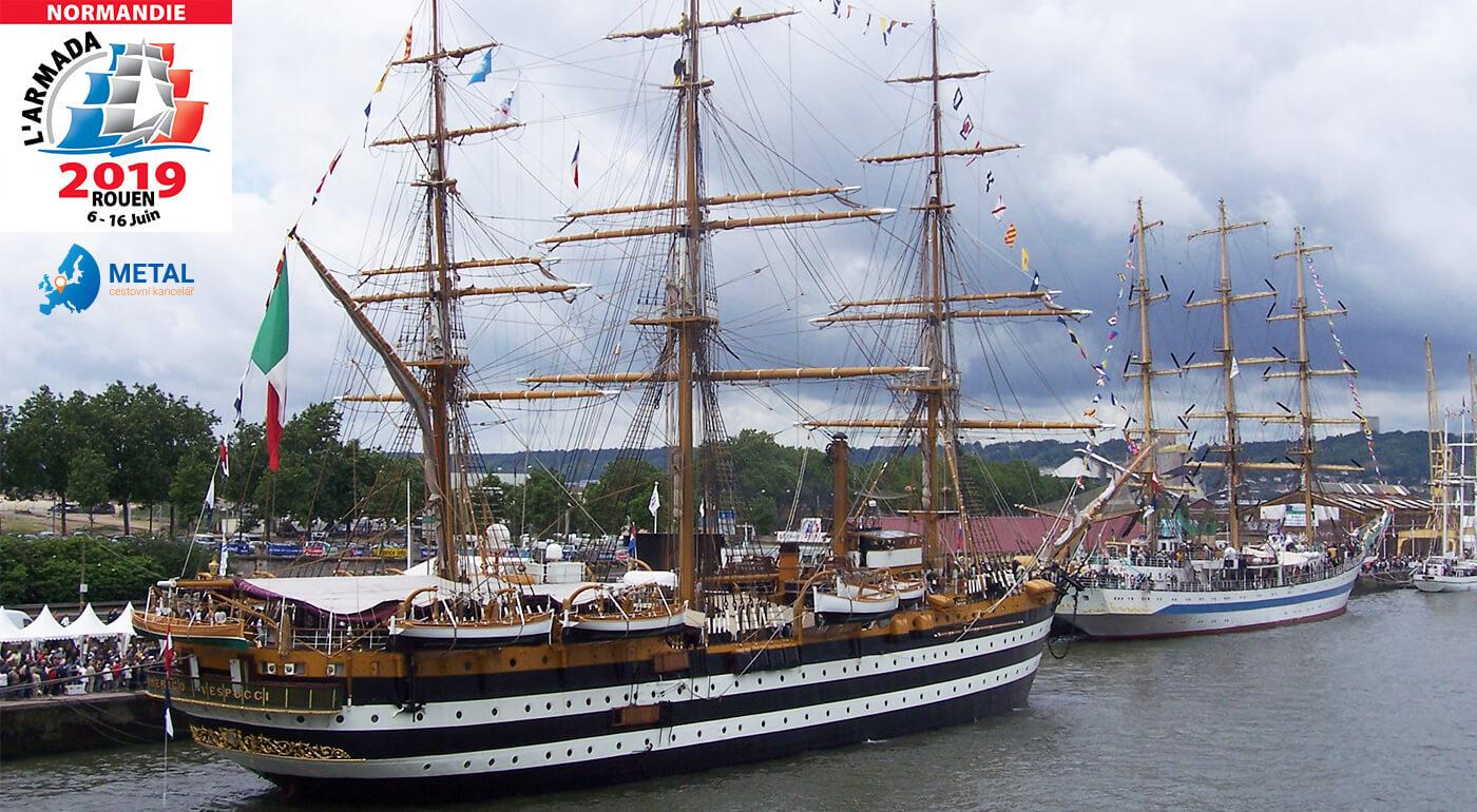 Francúzsko: Poznávací zájazd Paríž a Rouen v dobe námorného festivalu L´Armada
