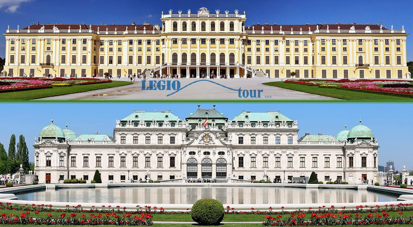 Viedeň: Po stopách histórie a návšteva 3 najkrajších zámkov: Hofburg, Belvedere a Schönbrunn