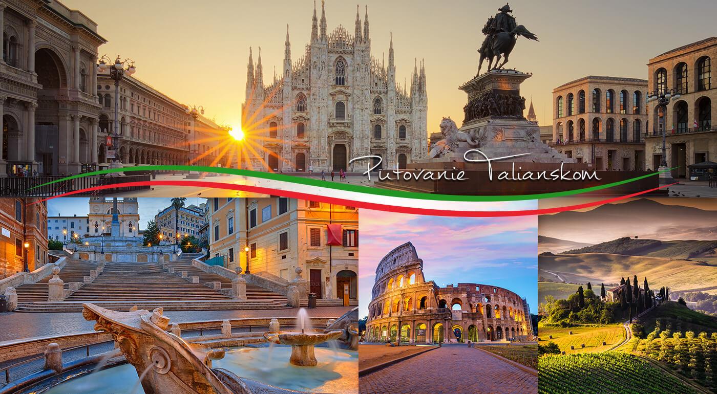 Taliansko z juhu na sever: Rím, Benátky, Verona, Florencia so zastávkou pri Lago di Garda na 6-dňovom zájazde
